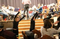 Kinder beim Musical