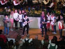 Pilzköpfe beim Konzert in Mauterndorf